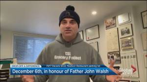 Community Event: Drop-Off a Difference, in Honour of Father John Walsh (00:29)