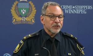 Winnipeg police hold media conference after officer-involved shooting