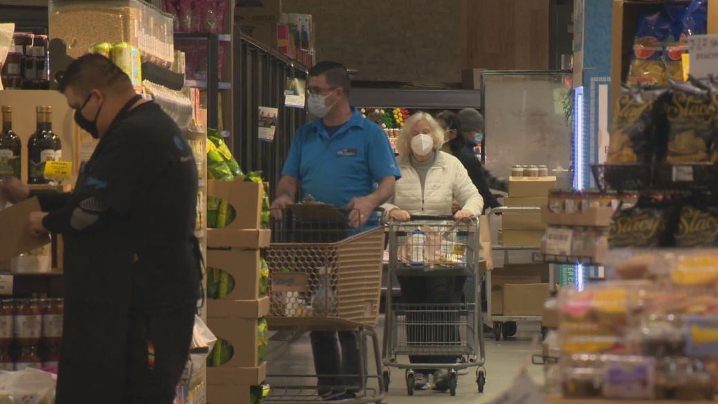 Click to play video: 'Housing costs and grocery prices put pressure on food ability in Canada'