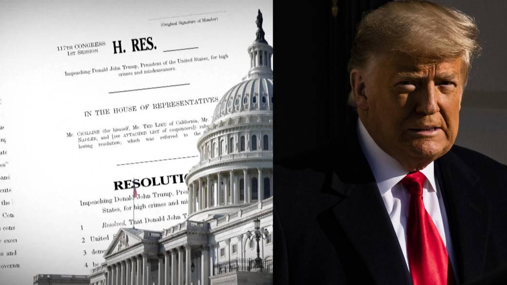 Impeached trump