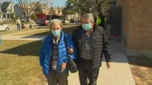 More COVID-19 vaccine doses arrive as Canadians line up to get inoculated (02:30)