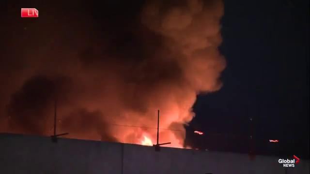 Fire breaks out on roof of Southgate Center shopping mall