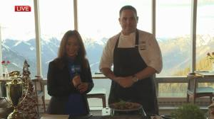 Mountaintop cooking with Sky Bistro
