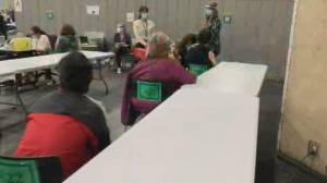 Frustrations over cancelled COVID-19 vaccinations, as number of stored doses grows (02:16)
