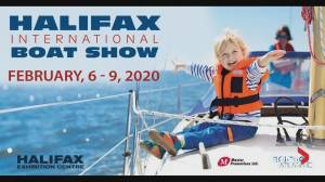 Local competitive water skiers take part in Halifax Boat Show