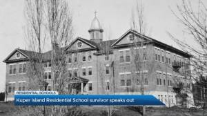 Residential school survivor speaks out in the wake of the discovery of unmarked graves (05:42)