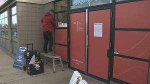 Edmonton cannabis retailer removes window coverings amid safety concerns
