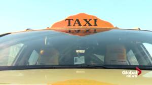 Edmonton taxi, Uber drivers concerned with taking passengers to COVID-19 tests (01:38)