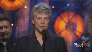 Squire Barnes on 35th anniversary of Bon Jovi's 'Slippery When Wet' (02:34)