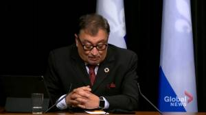 Coronavirus: Quebec deputy premier clarifies role of police in enforcing public health guidelines