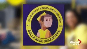 Lemonade Stand to honour Bella Desrosiers (02:05)
