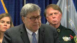 Barr says he doesn't recall White House asking him 'defend' president's Ukraine call