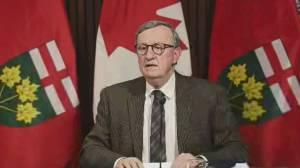 Ontario replacing retiring top doctor David Williams amid ongoing pandemic (02:29)