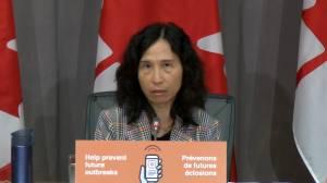 Coronavirus: Tam stresses importance of schools having multiple health measures in place to reduce spread