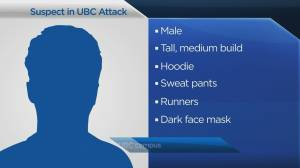 Asian woman assaulted on UBC campus Saturday night (00:48)