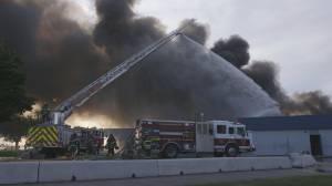 Fire destroys Kamloops elementary school