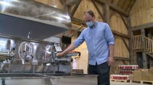 Ontario maple syrup season cut short (01:55)