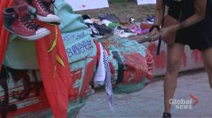 Ryerson University says it will not replace toppled statue of Egerton Ryerson (02:52)