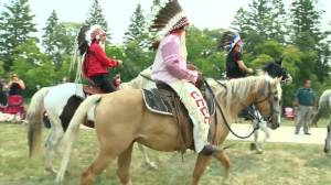 First Nations, federal government mark 150th anniversary of Treaty No. 1 at historic fort (00:50)