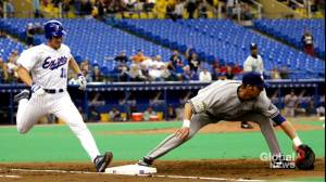 Tampa Bay Rays' president considers prospect of split baseball season with Montreal (01:48)
