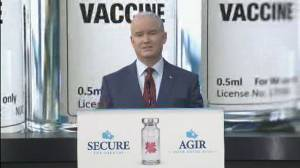Conservatives call for vaccines to be available to all Canadians by May long weekend (01:17)