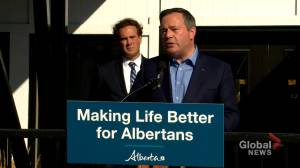 Word of Suncor layoffs 'very disturbing,' Premier Jason Kenney says (04:02)