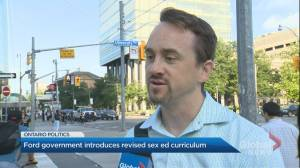 Toronto residents react to newly released sex-ed curriculum by Ontario government