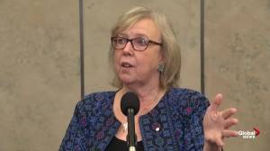 Elizabeth May to continue fighting for climate action in Canada