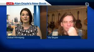 Great Big Sea's Alan Doyle joins Global News Morning Winnipeg (05:18)