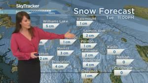 Kelowna Weather Forecast: February 15 (03:31)