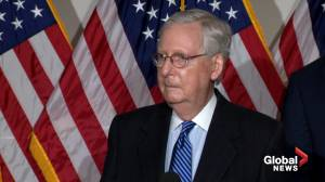 U.S. election: McConnell says he doesn't think there will be interrupted transition of power (00:31)