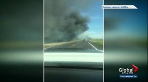 Witnesses recount deadly crash east of Calgary (04:30)