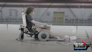Accessible Volt Hockey for children with disabilities in Alberta (01:14)
