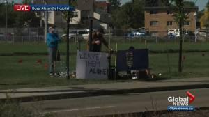 Nurse protest set to take place outside Royal Alexandra Hospital in Edmonton (03:34)