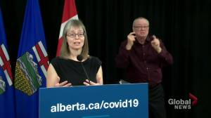 Alberta anticipates approximately 680K doses of COVID-19 vaccine if products clear testing (01:01)