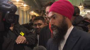 Federal Election 2019: Singh says he wants to make sure 'Canadians win' no matter the result