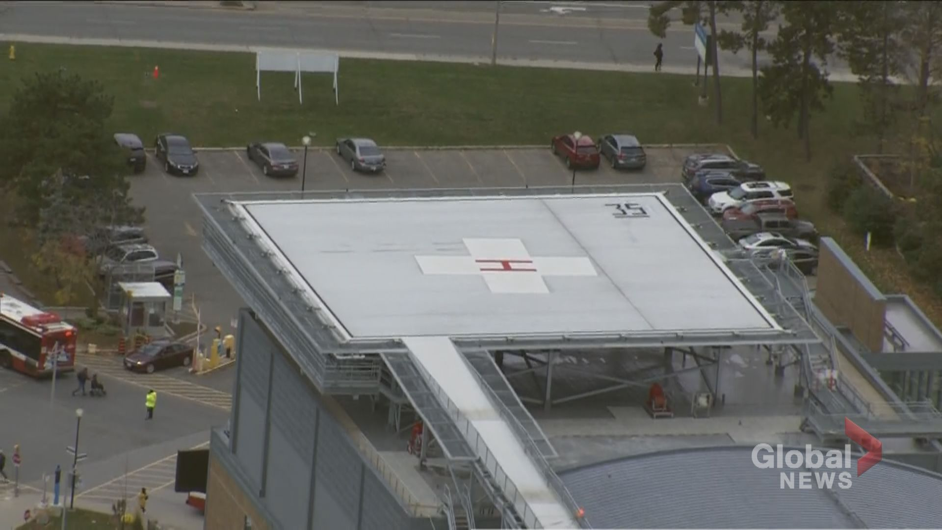 New helipad opens at Sunnybrook Health Sciences Centre