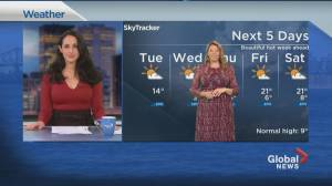 Global News Morning weather forecast: April 6, 2021 (01:49)