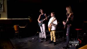 'We are all one': Teen band of brothers plays through COVID-19 pandemic (01:51)