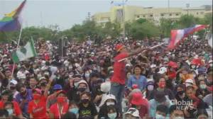 Thousands gather in Thailand for anti-government rally