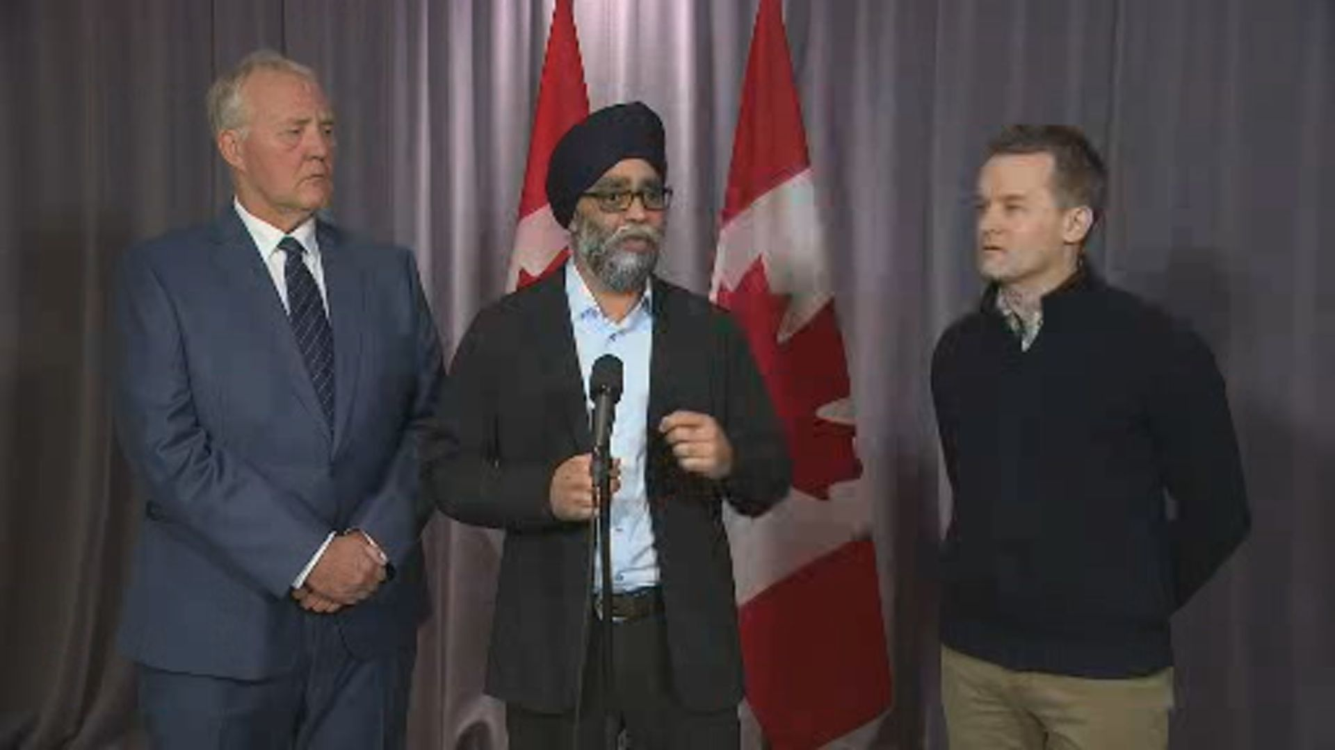 Sajjan say Ottawa, military will work with Newfoundland to determine where assistance is needed