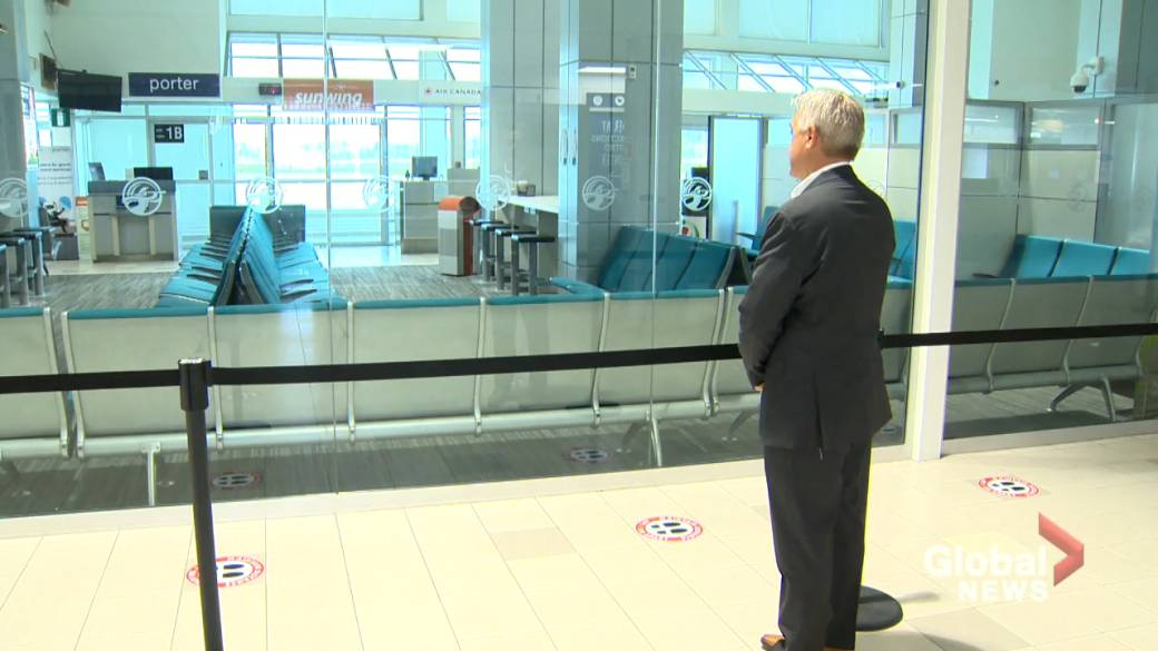 Click to play video: 'Saint John airport looks forward to better year'