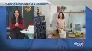 Spring Cleaning your kid's bedroom (04:08)