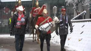 Grey Cup arrives in Calgary