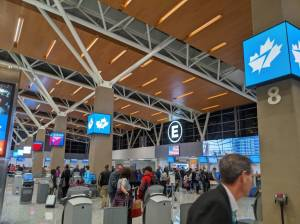 Calgary airport's busiest day of year