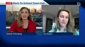 Back to school town hall for Manitoba parents (03:15)