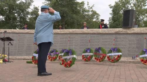 Ceremony honours Canada's fallen peacekeepers