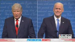 SNL cold open spoofs final U.S. presidential debate between Trump, Biden (11:20)