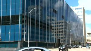 City lawyers ask for $1.2M more to chase possible $24M in Winnipeg police HQ fraud case (00:44)