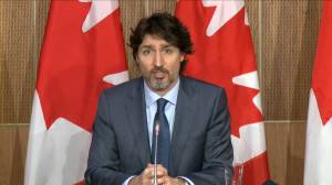 Coronavirus: Trudeau comments on arrival of 1st AstraZeneca vaccine shipment in Canada (02:04)